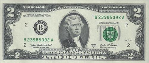2 доллара бумажные цена купить средство для чистки медных монет