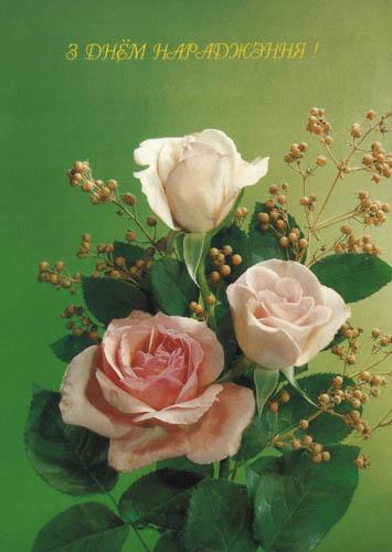Фото цветы в вазе на зеленом фоне 19